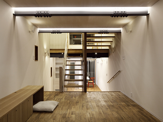 seven stairs house