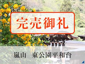 嵐山 東公園平和台