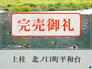 上桂 北ノ口町平和台