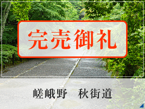 嵯峨野 秋街道